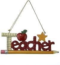Kurt Adler Teacher Christmas Ornament by Kurt Adler