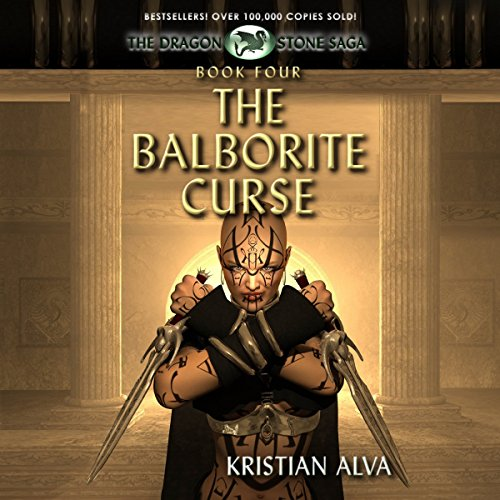 The Balborite Curse audiobook cover art