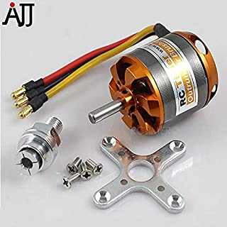 Parts & Accessories Ytn Bc3542 3542 1000Kv 1250Kv 1450Kv Outrunner Brushless Motor 5.0Mm Shaft For Rc Quadcopter Diy Fpv Multirotor Motors - (Color: 1450Kv)