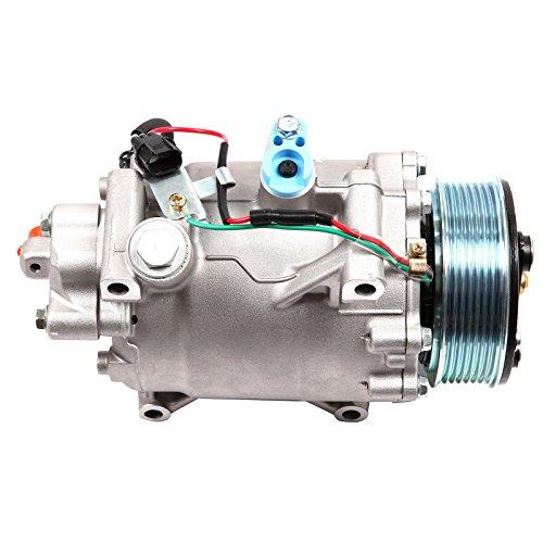 INEEDUP AC Compressor and A/C Clutch for 2007-2015 H-onda Civic CR-V A-cura ILX RDX 2.4L CO 4920AC