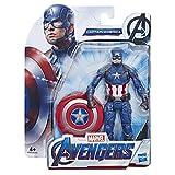 Marvel Avengers Captain America 15 cm-Scale Marvel Superhero Action Figure Toy