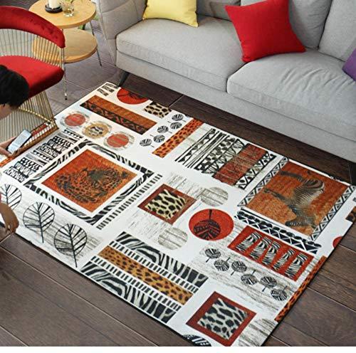 QAQA Stijl Huisdier Print Tapijt Voor Woonkamer Woonkamer Slaapkamer Slaapkamer Bedkant Thee Tafellamp Mat 1.3m*1.8m
