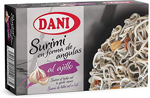 Dani - Surimi de Angulas al ajillo en aceite de girasol 110 gr.