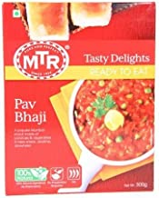 MTR Pav Bhaji, Ready-to-eat, 10.58-ounce Boxes (Pack of 3)