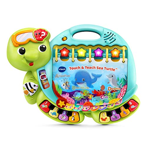 VTech Touch and Teach Sea Turtle Interactive Learning Book