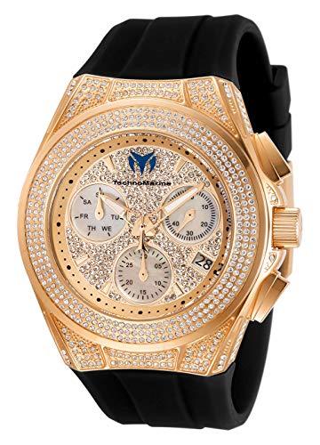 Technomarine TM-118109 Cruise Pave Unisex 45mm Rose Gold Watch