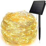 Luces solares Cuerda al aire libre solar de luz LED a prueba de agua...