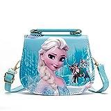 Fancyland Elsa Mädchen Taschen Frozen 2 Eiskönigin Kinder Umhängetasche mit Anna und ELSA 2...