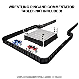 Ultimate Wrestling Ring Barricade Playset for WWE Wrestling Action Figures