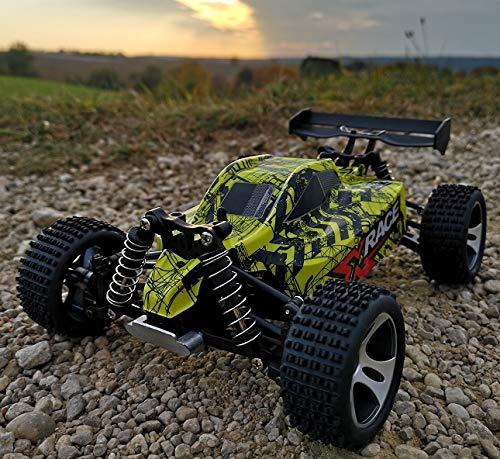 RC Auto kaufen Buggy Bild 4: RC 2,4 Ghz Speed Buggy POTENZA 4WD Allrad ferngesteuertes Auto Buggy RTR Bis 30km/h - Allradantrieb - Alles inklusive - RTR*