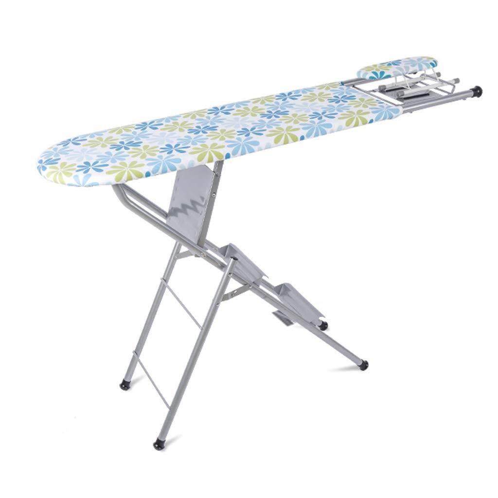 DX Tabla de Planchar Plancha Tabla de Planchar hogar Estable Planchado y Plegado de Seguridad 150 kg Escalera Cargando Peso (Color: Azul, tamaño: 124x36.5x85cm) Tabla de Planchar Ajustable: Amazon.es: Hogar
