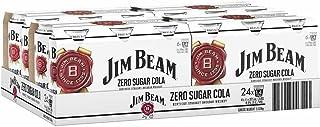 Jim Beam White & Zero 375mL Can 375mL Case of