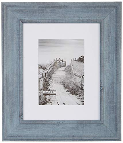 Malden 2410-57 Picture Frame, One Size, Denim Blue