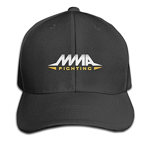 Yhsuk MMA Fighting Adjustable Hunting Peak Hat/Cap Black