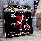 Jingle (them chaîne) Bells! Johannes Kwella Calendrier de l'Avent avec 48 séances de travail (1 kettlebell) et 1 entraînement Bodyweight par jour 20 x 20 cm