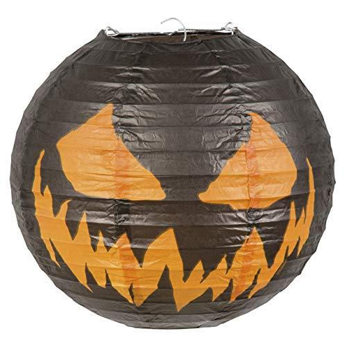 Boland BOL72305 Lanterna in Carta Zucca Terrificante, 25 cm