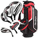 Best Golf Packages - MacGregor CG3000 Stand Bag Steel Irons Package Set Review