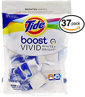 Tide Boost Vivid White Bright Pacs, 37 Pacs
