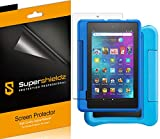 (3 Pack) Supershieldz Designed for All New Fire 7 Kids and Fire 7 Kids Pro Tablet 7 inch (9th and 7th Generation, 2019 and 2017 Release) Screen Protector, High Definition Clear Shield (PET)