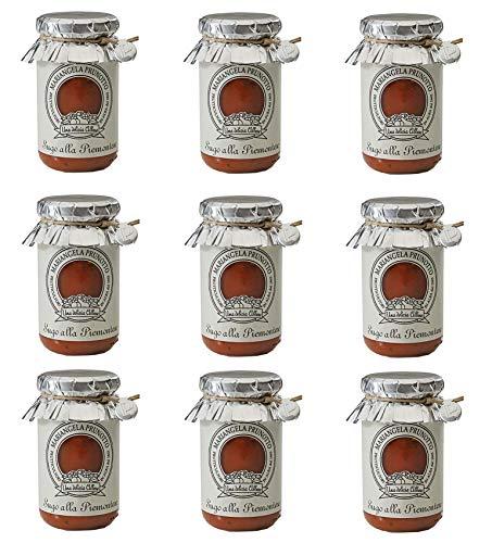 Azienda Agricola Prunotto Mariangela Sugo alla Piemontese - 9 Confezioni da  215 g