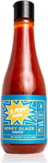 Honey Glaze Sauce by KPOP Foods. Sweet and Tangy Wing Sauce, 10.3 oz Squeeze Bottle. Low Heat.