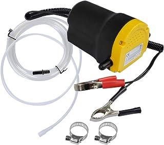 comprar comparacion QLOUNI Bomba Extractora de Aceite Eléctrica 12V 60W para Coche Extractores de Fluidos Cambio Diesel, Aceite de Motor