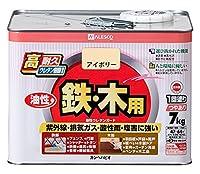 カンペハピオ 油性ウレタンガード(油性つやあり) 7kg アイボリー
