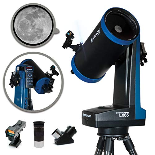 "Meade Instruments 228002 Lx65 6"" Maksutov-Cassegrain Computerized Telescope with AudioStar"