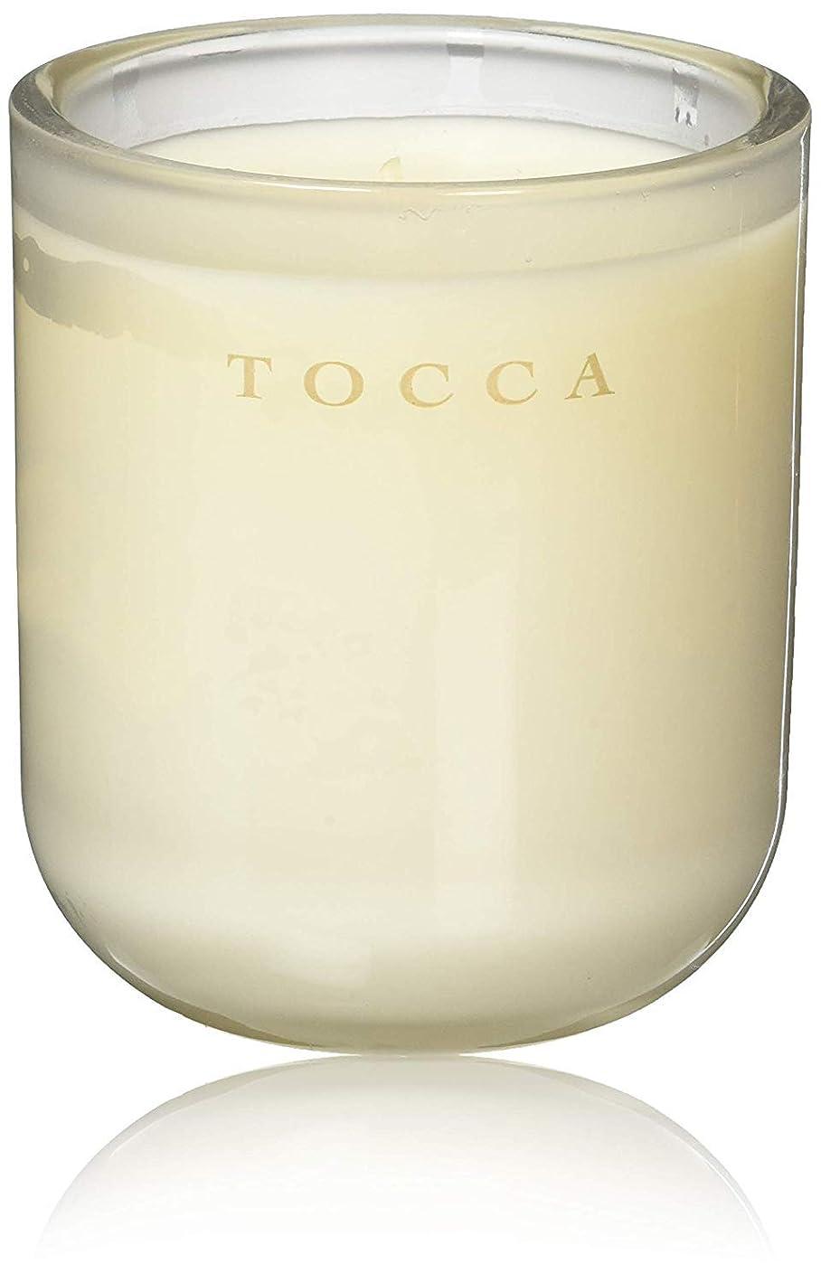 晴れ篭高揚したTOCCA(トッカ) ボヤージュ キャンドル カプリ 287g (ろうそく 芳香 柑橘とメロンの魅惑なシトラスな香り)