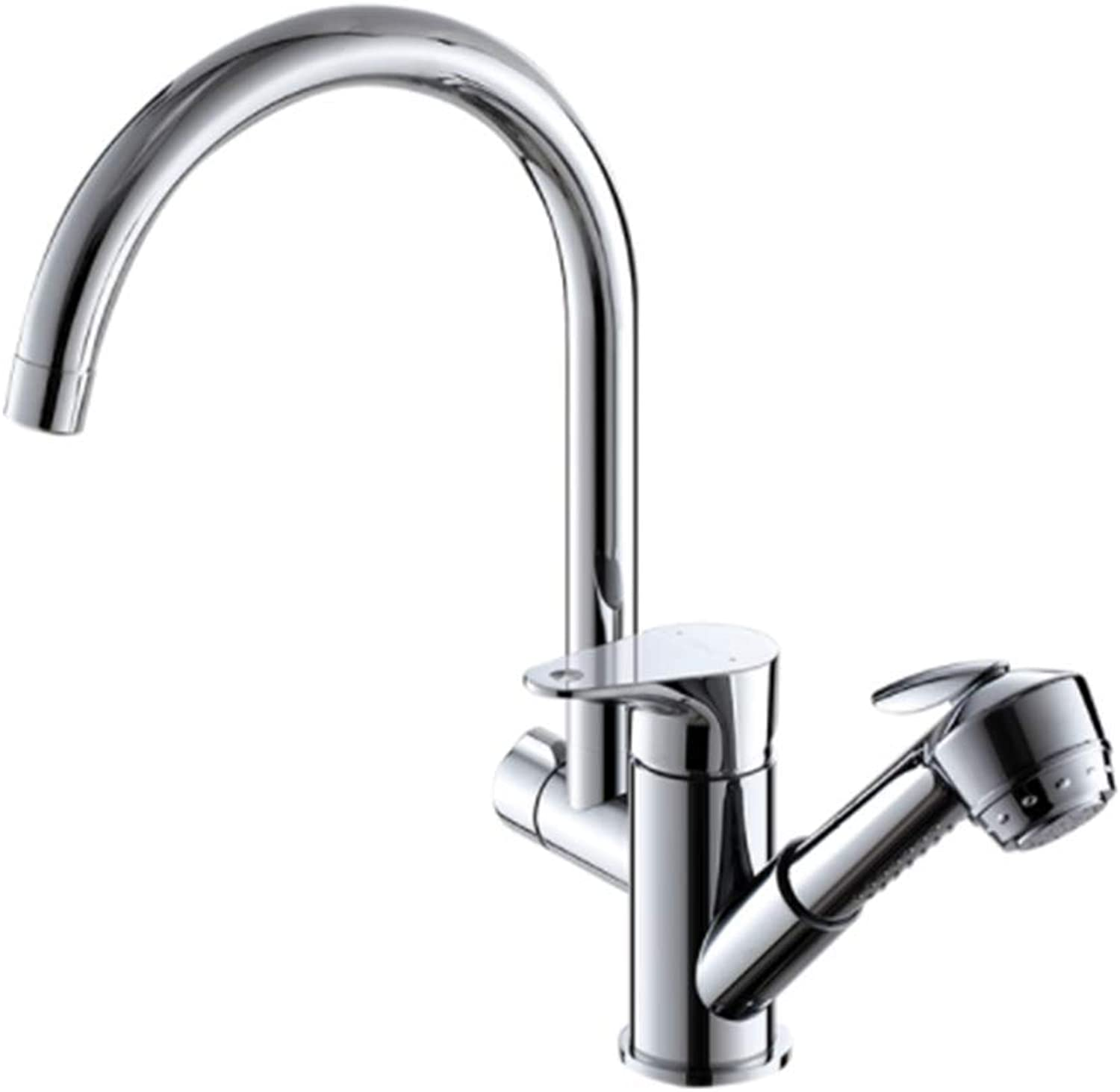 Kitchen Faucet Tapstainless Steelkitchen Faucet Prokitchen Faucet, Hot and Cold Pull Trough, Tap, Brass, Vegetable Basin Faucet.