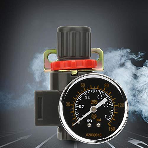 Drukreduceerventiel, BR2000/BR3000/BR4000 Luchtbroncompressor Verstelbare drukregelaar Reduceerventiel BR3000