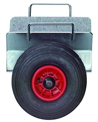 BS Rollen Plattenwagen.2L Plattenklemmwagen, Klemmbreite 0-110 mm, Lufträder