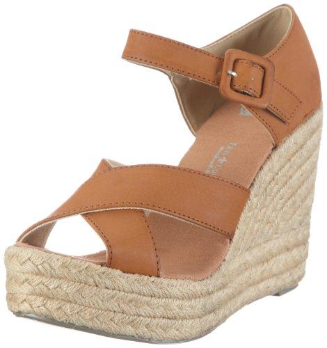 Friis & Company Damen Vernie Fashion-Sandalen, Braun/Tan, 38 EU