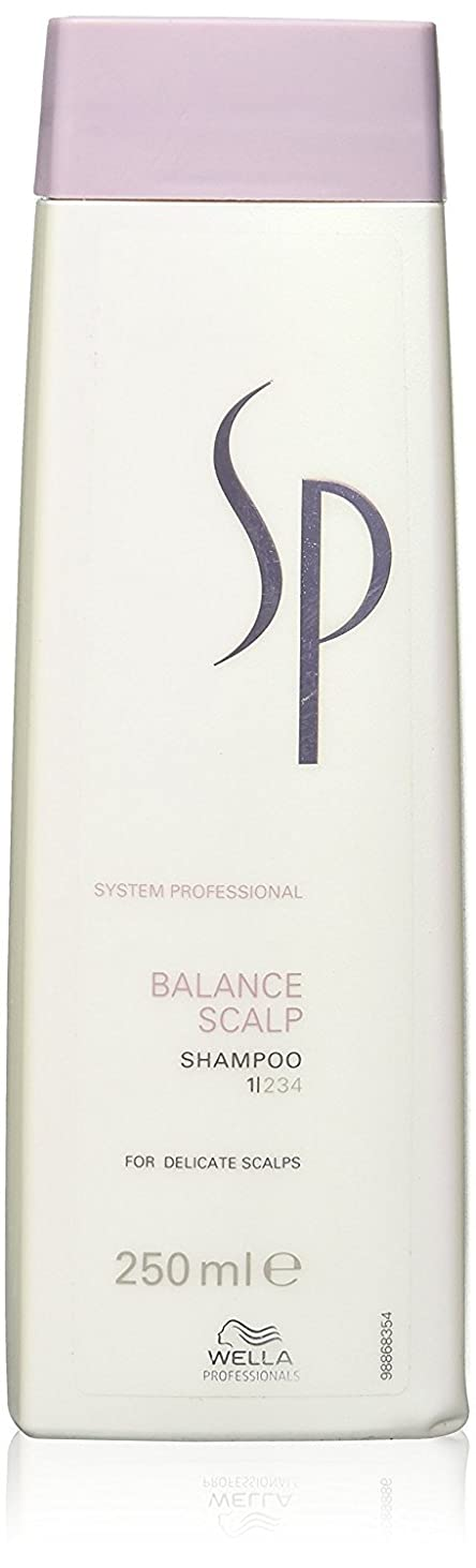 添付匿名クレデンシャルウェラ SP バランス スキャルプ シャンプー Wella SP Balance Scalp 250 ml [並行輸入品]