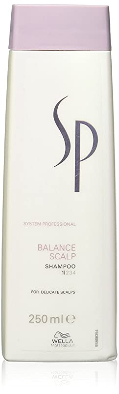 クラウン基準変動するウェラ SP バランス スキャルプ シャンプー Wella SP Balance Scalp 250 ml [並行輸入品]