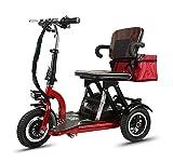 Xljh Adulte Vieux Pliant Loisirs Voyage Mini Portable Petit véhicule électrique à...