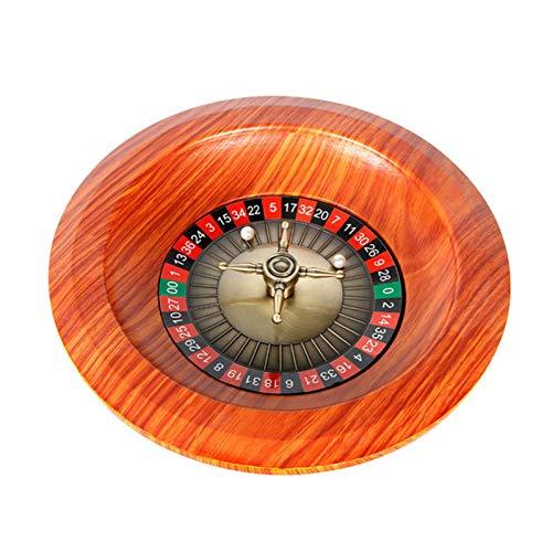 12 Zoll Holz Roulette Radsatz, Party Roulette Tischspiel Für Spaß Freizeit Unterhaltung, Casino Grade Präzisionslager, Digital Dial, Game Night Essential Value