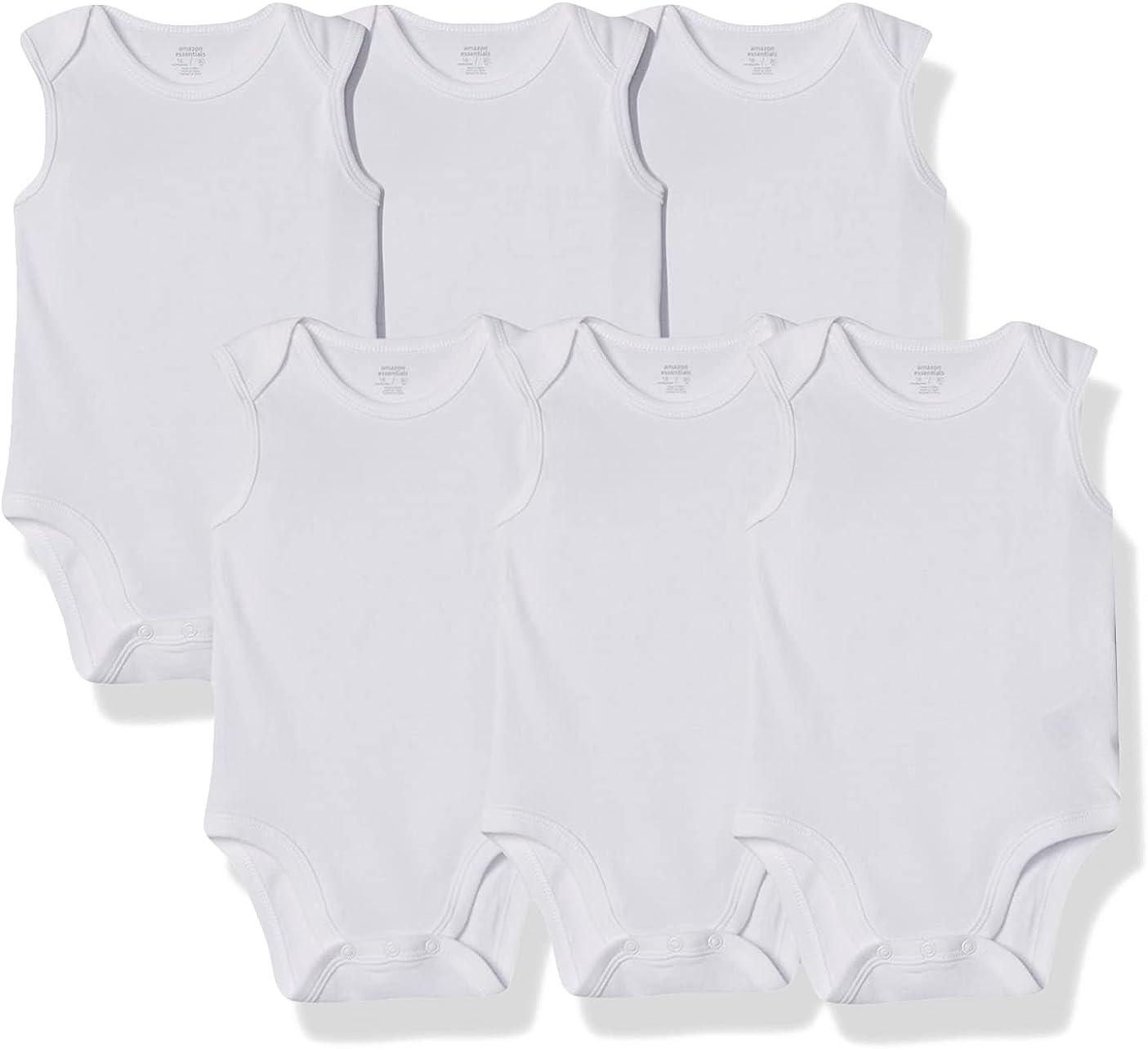 Amazon Ranking TOP13 Essentials Baby Bodysuits Sleeveless 6-Pack 55% OFF