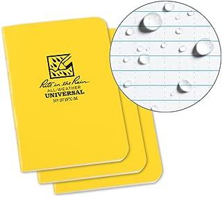 Rite in the Rain Weatherproof Mini-Stapled Notebook, 3 1/4