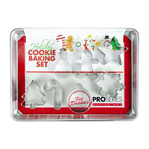 Fat Daddio's SP-SNOW Holiday Cookie & Baking Sheet