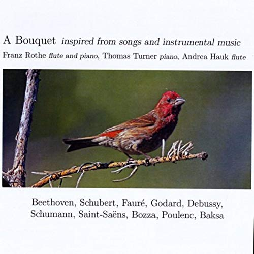 Voici Que Le Printemps (Eight Early Songs: No. 6) [Arr. for Flute and Piano]