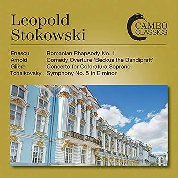 Enescu, Glière, Tchaikovsky & Arnold: Orchestral Works