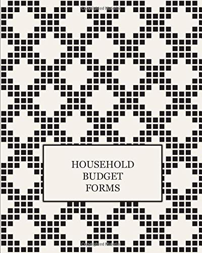 HOUSEHOLD BUDGET FORMS: Finance Monthly & Weekly Budget Planner Expense Tracker Bill Organizer Journal Notebook | Budget Planning | Budget Worksheets ... (Expense Tracker Budget Planner)
