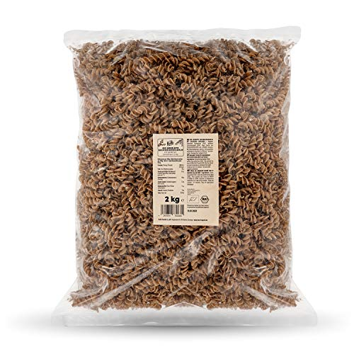 KoRo - Pâtes au sarrasin germé bio 2 kg - fusilli sans gluten