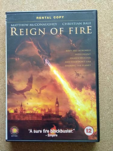 Reign Of Fire - Christian Bale As Quinn Abercromby; Gerard Butler As Creedy; Ned Dennehy As Barlow; Rory Keenan As Devon; David Kennedy As Eddie Stax DVD