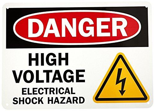 Danger: High Voltage -Electrical Shock Hazard, 10