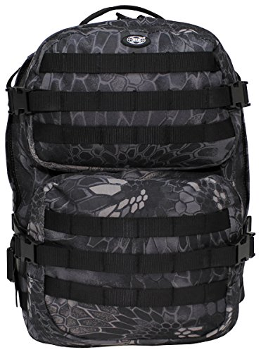 MFH US Rucksack Assault II (Snake Black)