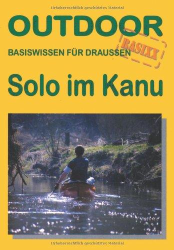 Solo im Kanu
