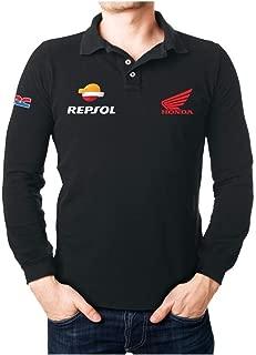 Honda REPSOL - Camiseta de Manga Larga con Cuello de Polo, Color ...