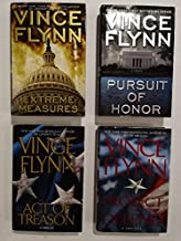 Set of 4 Mitch Rapp CIA Counter-Terrorism Suspense Thrillers by Vince Flynn: Act of Treason (2006) Protect and Defend (200...
